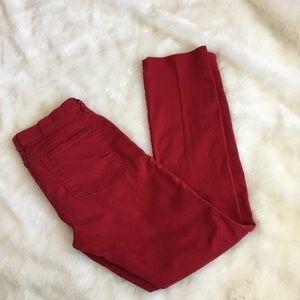 Red Ralph Lauren Straight Leg Jeans